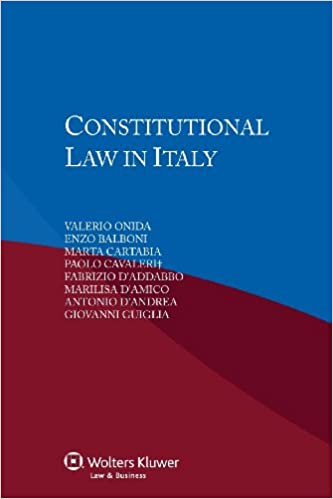 Constitutional Law in Italy