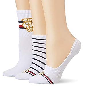Tommy Hilfiger Women's Calf Socks, (Pack of 3)
