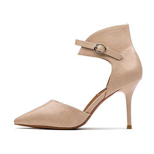 Heels Element High Shoes Fashion Sexy Spring Pumps Pink Stiletto Hoxekle Women New nvzxptO