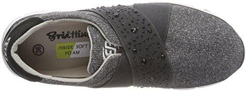 Schwarz Negro Silber Comfort Schwarz Zapatillas Adulto Unisex Elite Bruetting Silber FgAqwag