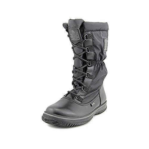 Coach Women¡¯s Sage Black/Black Lace-Up Cold Weather Boots 8.5 (B) M, Style (D-ring Lace Up Ankle Boot)