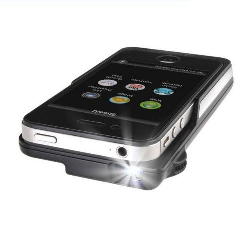 Amark Mobile Cinema iE600 iPhone4/4S用 プロジェクター 充電機能付き IP600BK   B009NQRIUM
