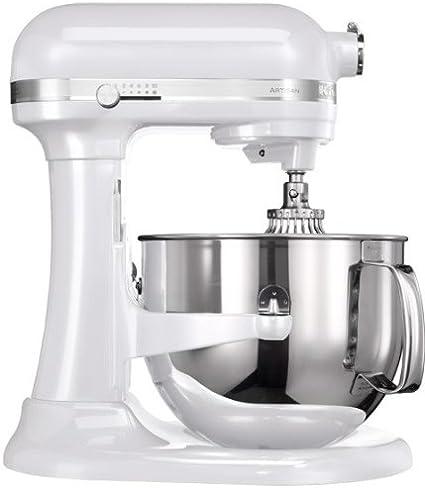 KitchenAid 5KSM7580X - Robot de cocina (Color blanco, Acero inoxidable, 50-60 Hz): Amazon.es: Hogar