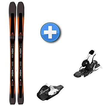 09b56855 Salomon Skis XDR 79 CF + Mercury 11, Orange: Amazon.co.uk: Sports ...