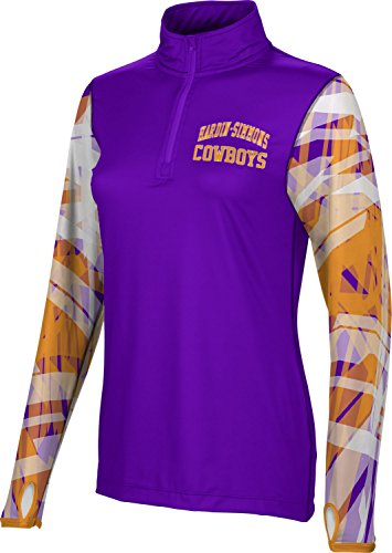 ProSphere Women's Hardin-Simmons College Crisscross Half Zip Long Sleeve (Apparel) F2892