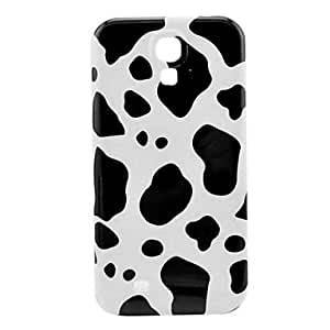 TOPAA Cow Stripe Pattern Plastic Protective Back Cover for Samsung Galaxy S4 I9500