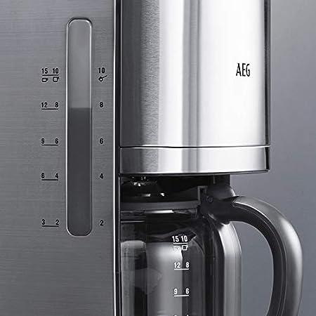 AEG KF7700 - Cafetera Programable 1,7 L, Auto apagado, 1100 W, 1,5 ...