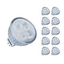 ChiChinLighting® LED Mr16 Bulbs AC DC 12v Warm White 10 Pieces pack Mr16 Reflector 6 watts Super Energy Saving Led Lights and LED Bulbs