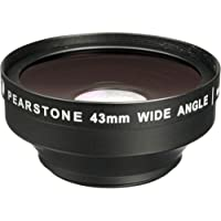 Pearstone DVP-WA07-43 0.7x Wide Angle Lens Attachment(3 Pack)