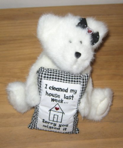 - Boyds Bear Girl With Pillow I cleaned my house last week