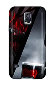 2015 Galaxy Case - Tpu Case Protective For Galaxy S5- Romantically Apocalyptic 6099219K45824768