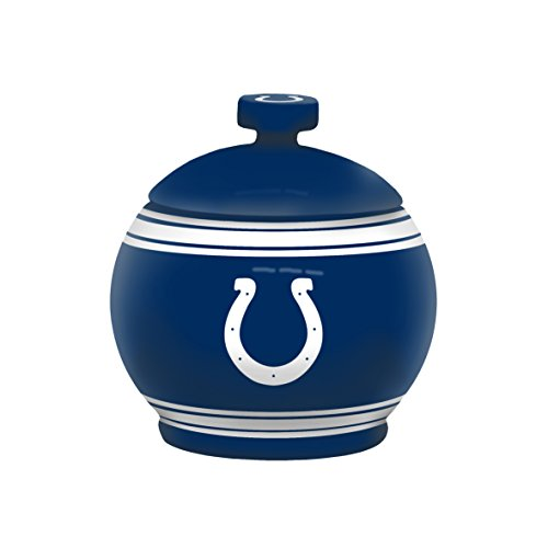 NFL Indianapolis Colts Sculpted Game Time Jar, 12-ounce, Blue (Candy Jar Nfl)