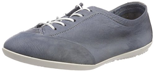 Donna Ops421sof navy Blu Stringate Softinos Washed Scarpe Oxford qfF7WpXw