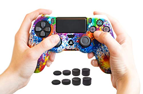 ProFlex® Silicone Controller Case Cover Skin for PS4/Slim/Pro DualShock 4