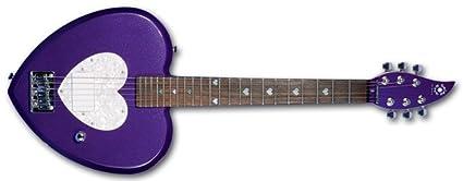 Daisy Rock Debutante Heartbreaker Short Scale Princess Purple Electric  Guitar