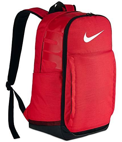 Nike Brasilia Extra Large Training Backpack University Red Black White Size X-Large
