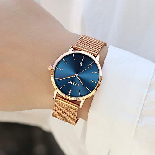 133a0ee628cf Aficionados a los Relojes - Reloj de lujo para mujer reloj ultrafino ...