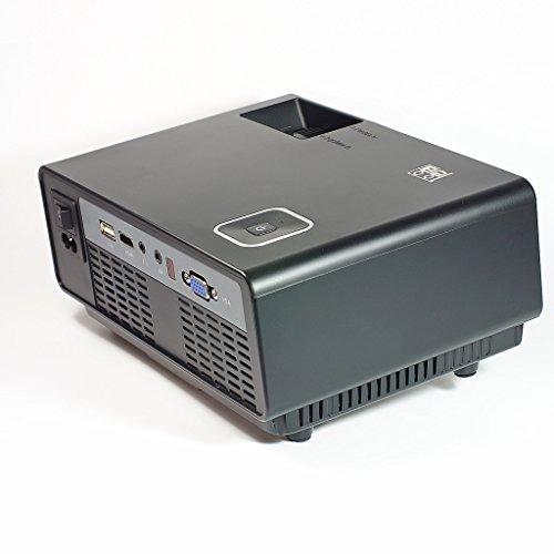 B2cool mini led projectors portable home theater projector for Portable projector with usb input