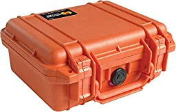 Pelican 1200 Camera Case With Foam (Orange)