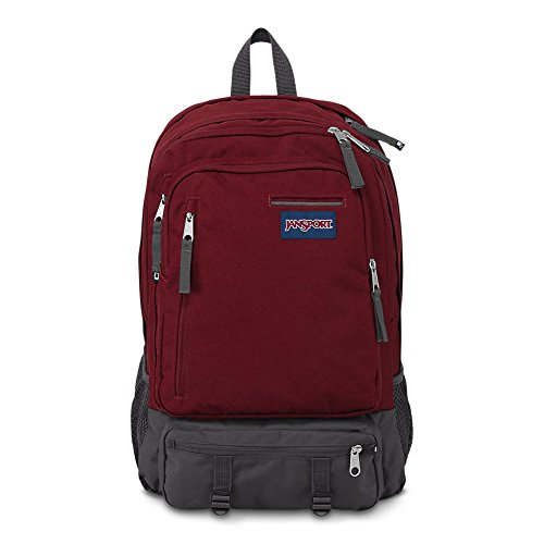 - JanSport Envoy Laptop Backpack - Viking Red