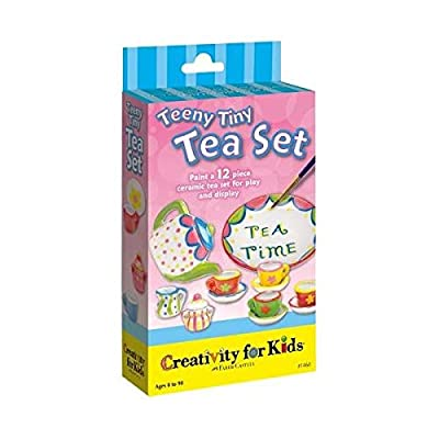 Creativity For Kids Teeny Tiny Tea Set Mini Kit: Toys & Games