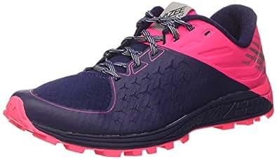 New Balance Vazee Summit v2, Zapatillas de Running para Asfalto para Mujer, (Dark Denim/Alpha Pink/Metallic Silver), 37 EU