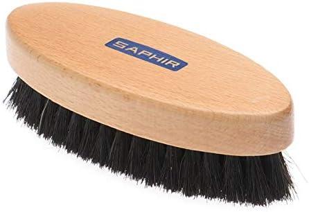 SAPHIR Wood Horse Hair Shoe Boot Leather Brush Clean Polish 7 Inch Spatula