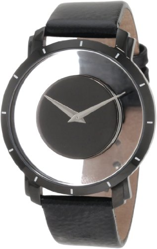 Akribos XXIV Men's AKR412BK Spacely Floating Black Quartz Watch