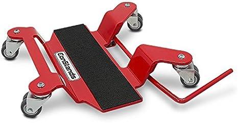 max 400 kg rouge Chariot Range Moto pour BMW R 1100 RT pour b/équille centrale ConStands Mover II