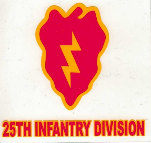 25th infantry division decals - 5
