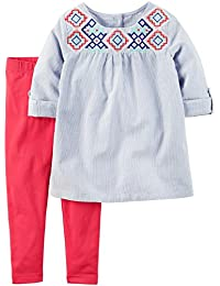 Carter's Baby Girls' 2 Pc Playwear Sets 239g296