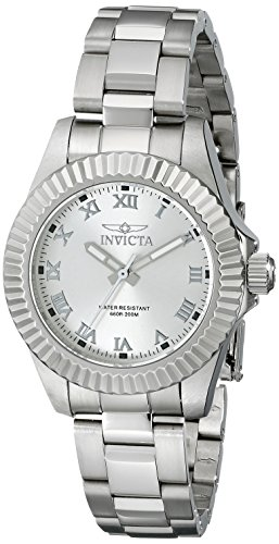 Invicta Women's 16761 Pro Diver Analog Display Swiss Quartz Silver Watch