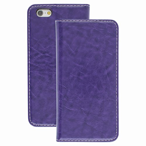 Good Quality Apple iphone 6 plus Case cover, Apple iPhone 6 plus Purple Designer Style Wallet Case Cover