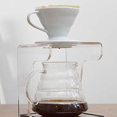 Hario VDC01W - Cafetera Dripper V60, de cerámica, 1 taza, color ...