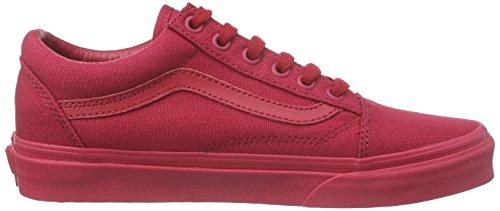 Adulte Mixte V4OJAEF Vans U Crimson Skool Old n8YC4q6