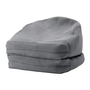 Ikea Bussan Sitzsack Für Drinnen Und Draußen In Grau Amazon De
