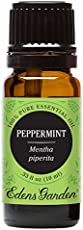 Peppermint Pure Therapeutic Grade Essential Oil by Edens Garden