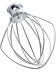 Wire Whip for KitchenAid Tilt-Head Stand Mixer Accessory Replacement, K45WW Egg Cream Stirrer, Cakes Mayonnaise Whisk,Whipping Egg White