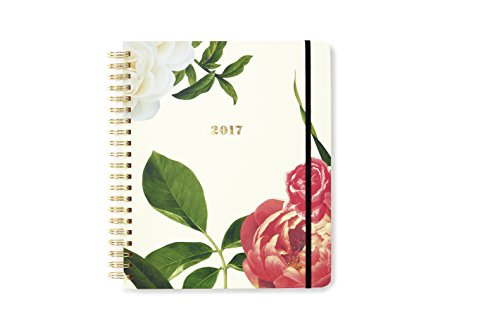 kate spade new york 2016-17 Jumbo Spiral Agenda, Floral