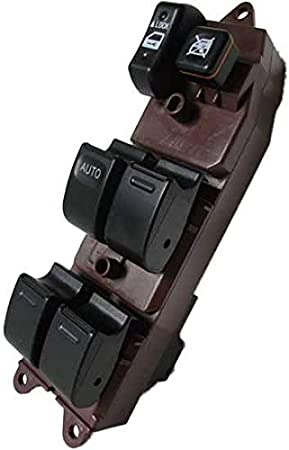 ECCPP Power Window Switch on Front Left Driver Side fits for Toyota 2002-2006 Camry RAV4 2001-2004 Sienna2004-2009