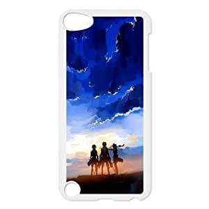 High Quality Specially Designed Skin cover Case Attack On Titan iPod Touch 5 Case White