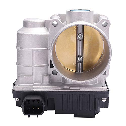 ECCPP Electric Throttle Body Air Control Assembly Fit 2002-2006 Nissan Altima /2002-2006 Nissan Sentra /2005-2006 Nissan X-Trail OE 16119JF00B, 16119AE013
