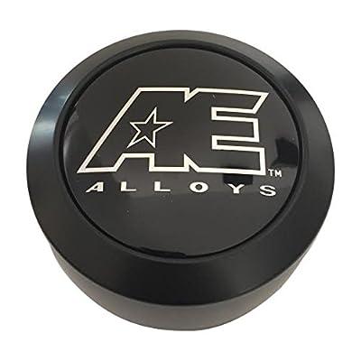 American Eagle AE Alloys 3302 AEWC Matte Black Center Cap: Automotive