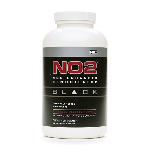 MRI No2 Black Nos-enhancing Peptide Caplets 300 - No2 Black