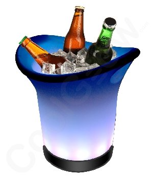 Fun Central AC598 LED Light Up Ice Bucket, Glowing Ice Bucket, Ice Bucket Glow, Light UP Ice Bucket, Glowing Ice Bucket - Multicolor for $<!--$53.80-->