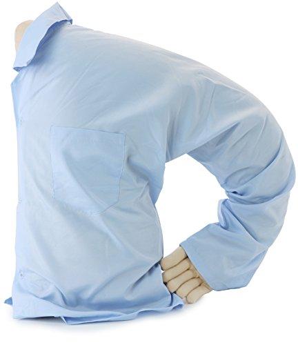 Boyfriend Pillow The Original Boyfriend Body Pillow Blue (Sleeping In My Bed Messing With My Head)