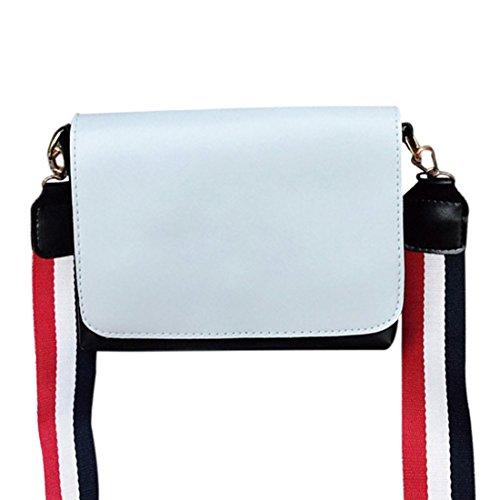 Bag Ladies Jiyaru Women Shoulder Handbag Crossbody Messenger Purse Blue for EwPPCxqa