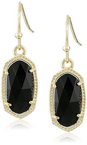 Kendra Scott 'Signature' Lee Rhodium plated Platinum Drusy Drop Earrings