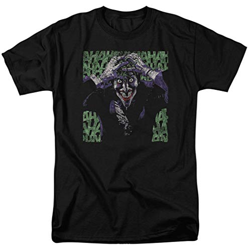 The Joker Laughing DC Comics T Shirt & Exclusive Stickers -