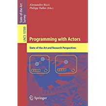 Programming with Actors: State-of-the-Art and Research Perspectives